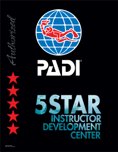 PADI 5-Star Instructor Development Center Logo
