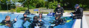 PADI IDC-Staff Instructor Schwimmbad
